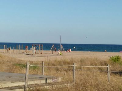 Photo for PLAYA DE CASTELLDEFELS, VERY CENTRAL.