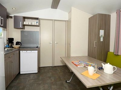 Photo for Camping Odalys Les Berges du Lac *** - Mobile Home 4 Rooms 6/8 People