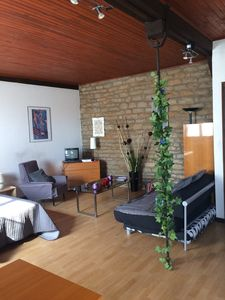 Photo for Large studio of charm (45m ²) independent + wifi with possibility of garage