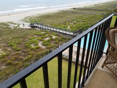 Photo for OCEANFRONT....DIRECT BEACH ACCESS..... 2 BEDROOM / 2 BATH 1,034 SQ FT UNIT