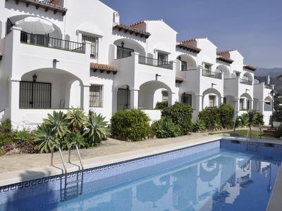 Photo for In Nerja, 2 bedroom apartment near the beach very well located