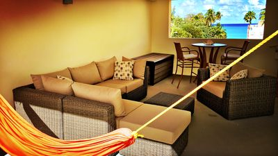 Photo for Brenda's Sun-Kissed Ocean View Rooftop Beachfront Penthouse Condo 2,250 sq ft