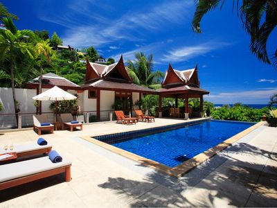 Photo for Stunning 4 Bedroom Villa, Surin Beach, Phuket