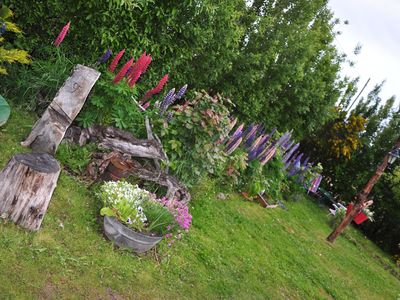 Photo for A Cozy  Rural Apartment With Flowered Garden in El Calafate- Patagonia