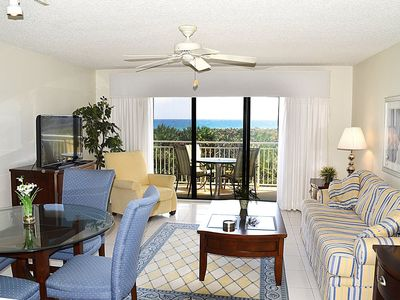 Photo for Second Level Corner 1-BR Oceanfront Condo With Assigned Covered Parking