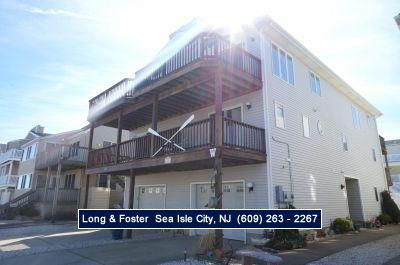Photo for GOOD VIEWS - beach block 5 bedroom 2.5 bath townhouse is perfect for that next vacation at the shore