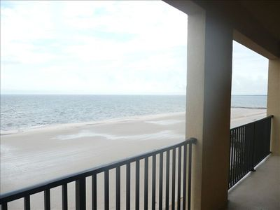 26 foot balcony view (King and Queen of the beach)