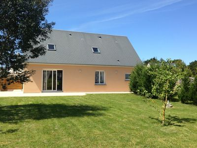 Photo for A nice family home, close to the beautiful sandy beach of St. Germain-sur-Ay