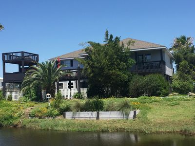 Photo for Hot Tub In The Gulf Breeze-Screened Game Room with games galore-Spacious Decks-
