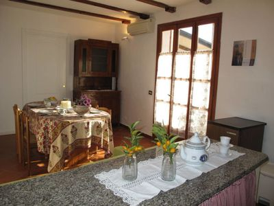Photo for Apartment Agriturismo San Giuseppe (VLO204) in Dolcedo - 4 persons, 1 bedrooms