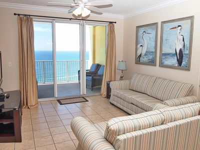 Photo for Gorgeous Gulf-Front 2 Bedroom Penthouse Tropic Winds Condo, FREE BEACH CHAIRS