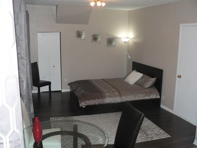 Photo for Business or pleasure, beatiful studio apartment, perfect location