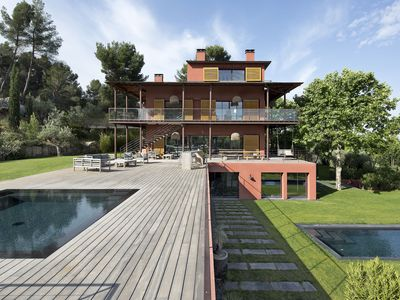 Photo for Suite in exceptional property, terrace and dominant view, 32 M2