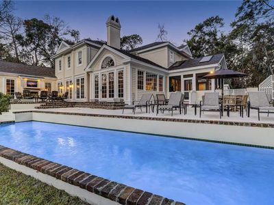Photo for STUNNING, Spacious Five Bedroom Palmetto Dunes Home with a Private Pool