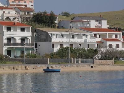 Photo for Apartment in Metajna (Pag), capacity 3+1