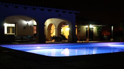 Photo for Frontline 4 bedroom west facing detached villa + private pool & fabulous views