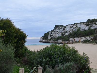 Photo for First line beach with sea views, Cala Romantica