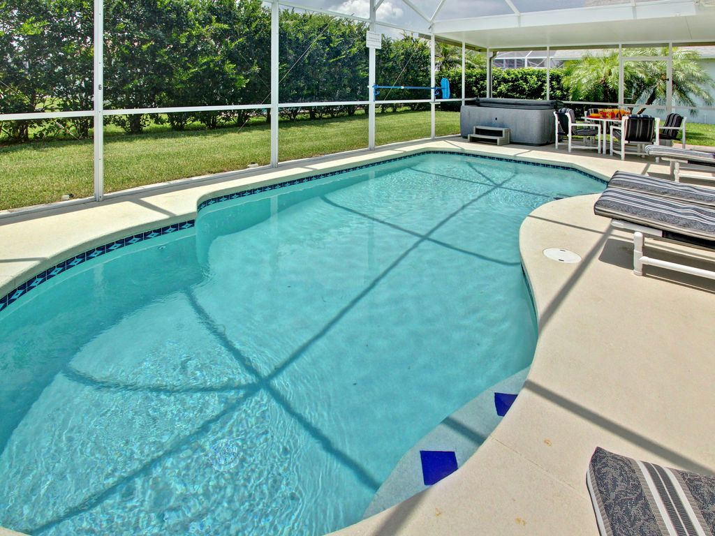 Miles To Disney Villa WPrivate Pool HomeAway Kissimmee - Beautiful madness 10 extraordinary bedrooms near the swimming pool