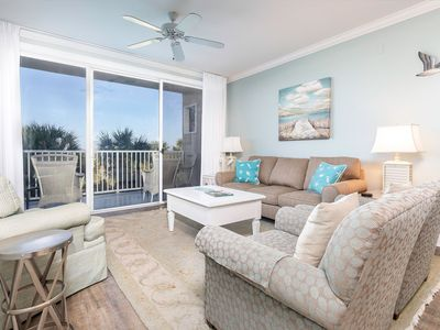Photo for Directly Oceanfront, 3 Bedroom, Pet-Friendly Condo with Private Balcony and Community Pools