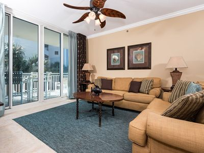 Photo for Warm, welcoming condo at Waterscape! Washer/dryer in-unit! Playground + two hot tubs on-site!