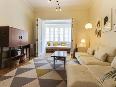 Photo for Stylish and spacious flat in Principe Real. New!