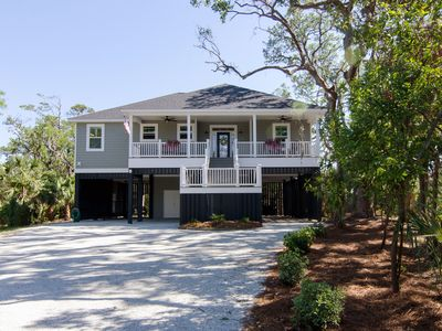 Photo for Peggy's Port of Call - Beautiful Pet Friendly 3BR Resort Home w/ Lagoon Views