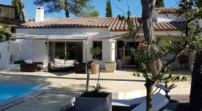 Photo for NEAR MONTPELLIER PRETTY HOUSE WITH SWIMMING POOL BETWEEN BEACH AND GARRIGUE