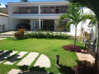 Photo for BEAUTIFUL HOUSE ON THE BEACH OF THE CORAL SEA