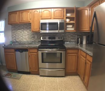 Fully equipped kitchen, new appliances and updated February 2015