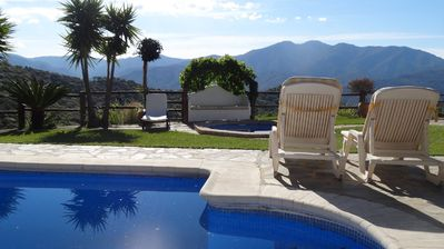 Photo for Private Villa with pool,jacuzzi and magnificent Views