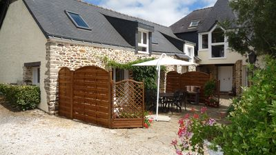 Photo for The Annexe: renovated house, heated pool, accommodating 4 people