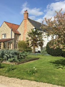 Photo for Ashton Road Farm is set in beautiful large  gardens and Orchards