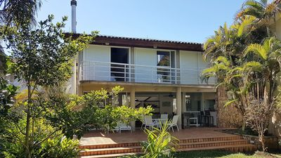 Photo for House with 4 suites in a closed foot condominium in the sand - Guaratuba