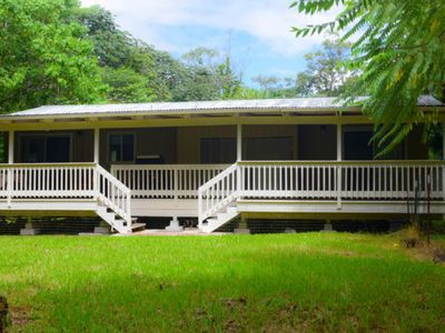 Photo for Tropical Forest Retreat Near Ocean - Ho'ohauoli