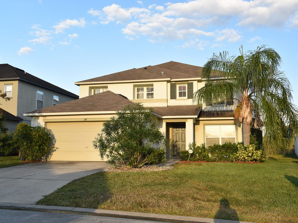 Beautiful 5 Bedrooms Pool Home Near Disney World 5 Br Vacation House For Rent In Davenport