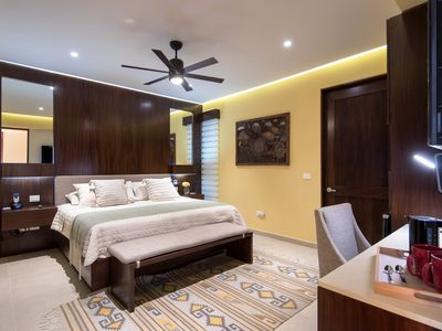Photo for Luxury interior room in perfect location, steps from beach and restaurants