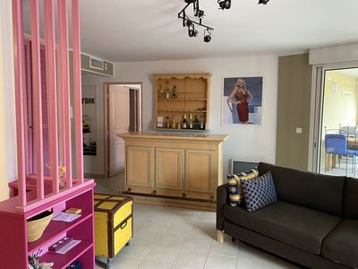 Photo for Two-room apartment 70 m² air-conditioned, with te