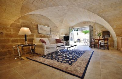 Photo for 18th century property in Uzès historical Center with courtyard and fountain