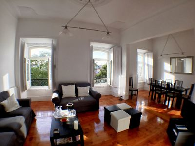 Photo for Castelo Patio apartment in Castelo with WiFi & private terrace.
