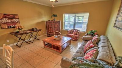 Photo for Beautiful Condo located just a half block from the beach