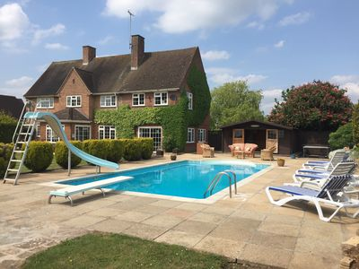 Swimming Pool, Diving Board, Slide, Sunbeds, Chalet, Table Tennis.