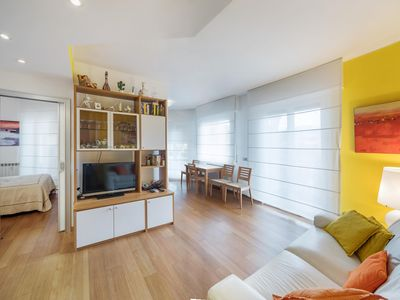 Photo for Bordighera: bright and quiet apartment in the center