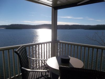 Photo for LOCATION, LOCATION!!  What an Awesome View!  Smaller Complex, Gas Grill, WiFi
