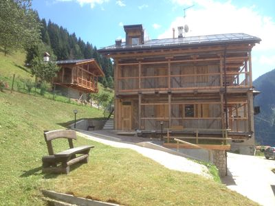 Photo for HOLIDAY IN MASO VIEW DOLOMITES