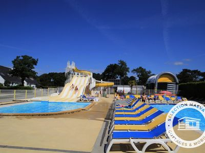 Photo for Camping Le Moustoir **** - Maeva Camping - Chalet 2 Rooms 2/3 People