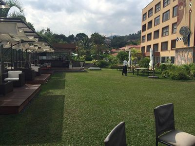 Photo for Explore Bujumbura and relax by the pool at the Eka hotel