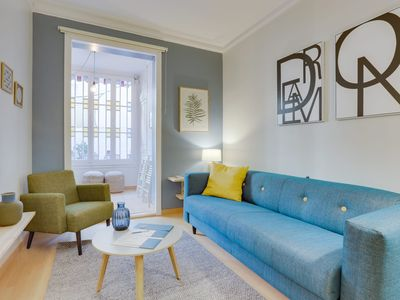 Photo for Eixample Dreta I - Three Bedroom Apartment, Sleeps 8