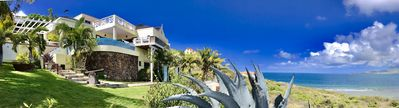 Photo for St Kitts Two for one  Luxury Villa & Private Beach Lounge Breathtaking views!