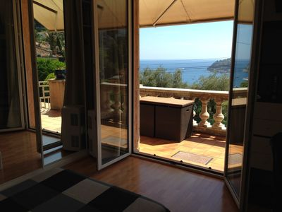 Photo for PROMO Villa with sea view 100 m2 - south-residential-Pkg air-conditioned rooms