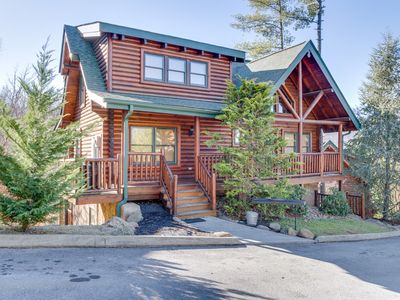 Photo for Crazy Horse Cabin | WOW Views! | Hot Tub | Pool Table |Custom Build | Pigeon Forge | Community Pool